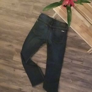 Hudson Mens Byron Straight Leg Jeans in Atlantis